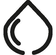 Symbol eines Tintentropfens