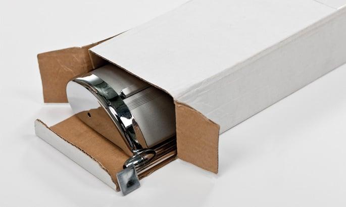 Verpackungsschachtel eines Roll Up Mini
