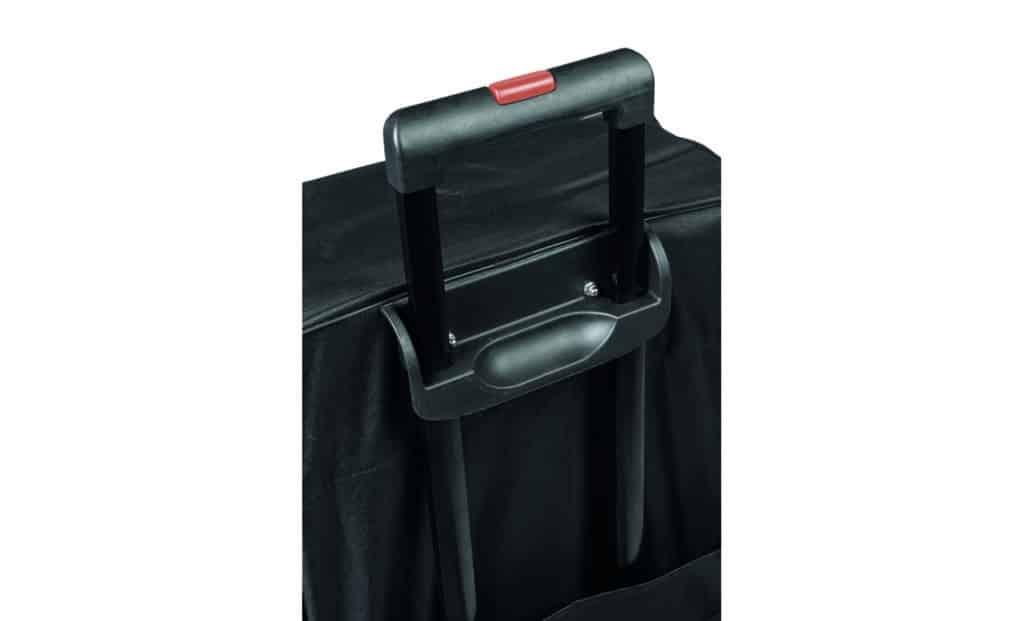 Trolley für Scherengittercounter fabric