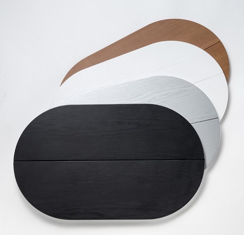 Kofferdeckel als Thekenplatte in Holz, weiß, silber und schwarz