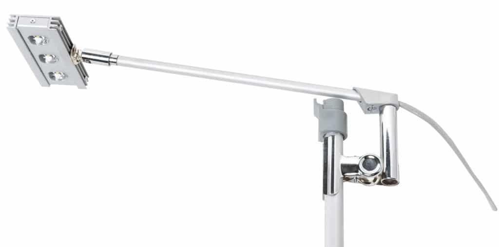 Wall Light Klemme Adapter mit Banner LED Leuchte