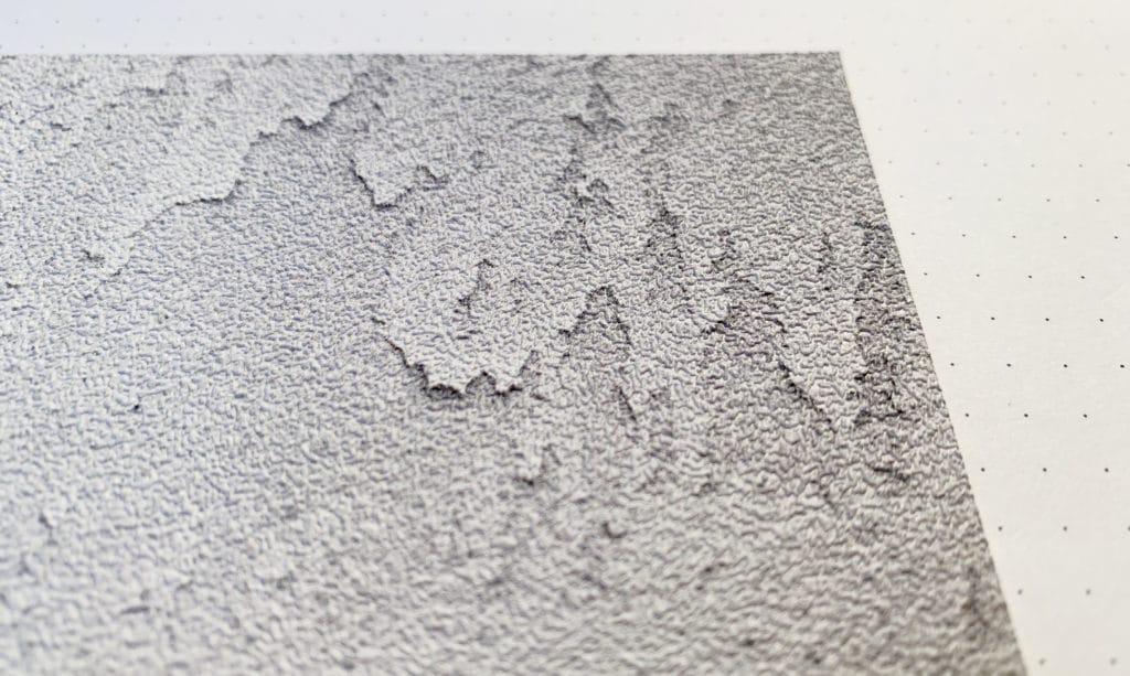 Detail einer Taopete mit Maueroptik